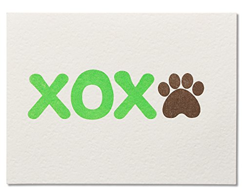 American Greetings XOX Birthday Card from Dog - 5856741