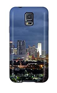 New Style High Quality Miami City Case For Galaxy S5 / Perfect Case