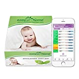 Easy@Home Ovulation Test Kit Powered by Premom Ovulation Predictor APP, 40 Ovulation Test and 10 Pregnancy Test Strips, Simplest Ovulation and Period Tracking with Free iOS&Android APP, 40LH +10HCG
