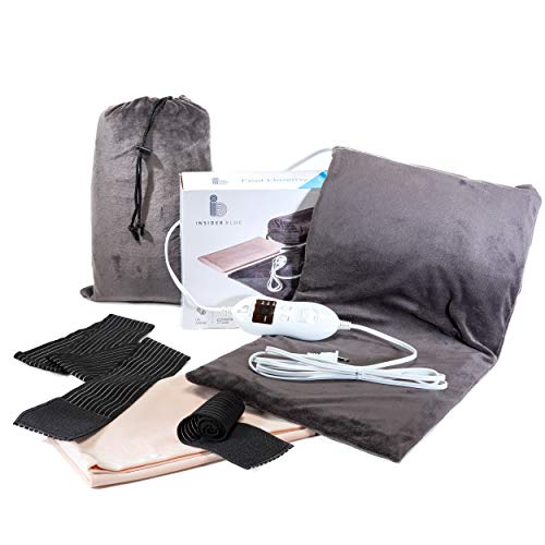 - Electric Heating Pad for Back Pain, Cramps, Sore Feet, Legs & Knees - XL 12x24