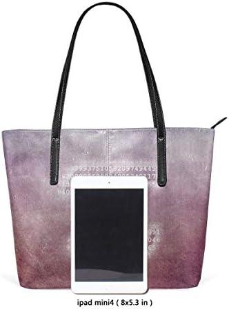gxianyuyib Sac à bandoulière fourre-tout en cuir souple pour femmes 3.14 grande capacité sac à main portable décontracté porte-monnaie sac de voyage de travail