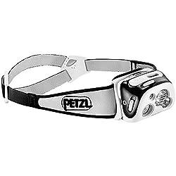 Petzl - REACTIK+ Headlamp, 300 Lumens, Bluetooth Enabled, Black