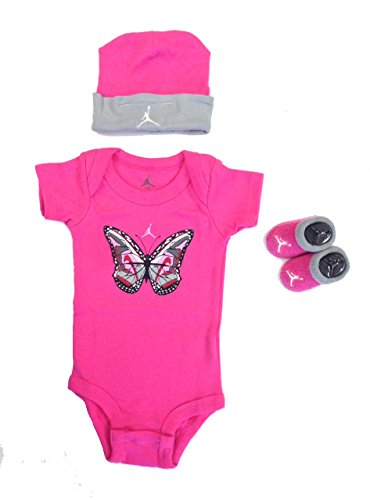 Baby Girl Jordan Clothes Delectable Jordan Baby Clothes Girls Shoe Butterfly 66066060 Piece Set 66060660m Pink 66060