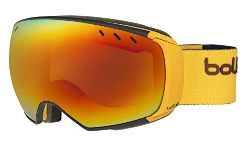 Bollé Virtuose Masque de Ski Mixte Matte Navy/Mustard