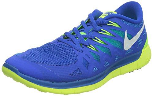 Nike Free 5.0 - Zapatillas para hombre HYPER COBALT/WHITE-VOLT-ELCTRC GREEN