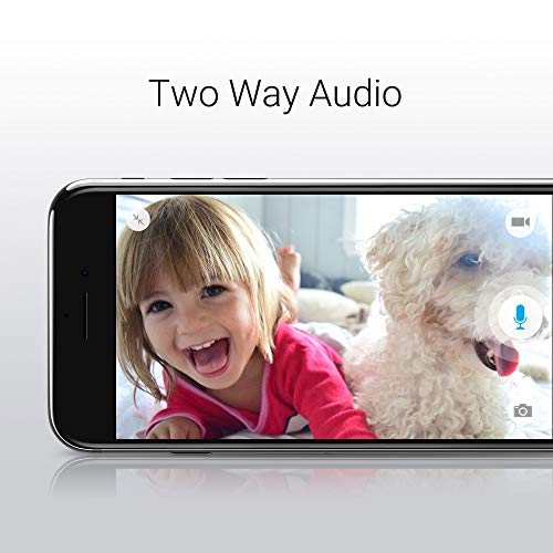 Zmodo 1080p Wide Angle 180 Degrees Wireless Two Way Audio Home Security Camera by Zmodo (Image #5)