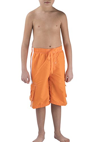 QUICK DRY Swim Trunks Bathing Suits for Boys by BEGED, (Cool Suits For Boys)