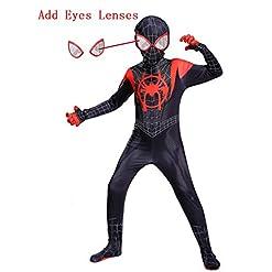 Piers Kids Lycra Spandex Bodysuit Cosplay Superhero Costumes Zentai Youth
