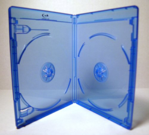Original BLU RAY Replacement Cases * Pack of 5 * [Double Disc] Viva Elite