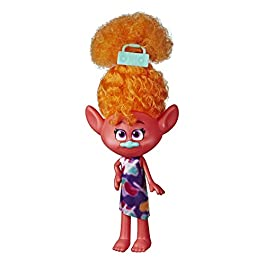 Trolls DreamWorks Stylin' DJ Suki Fashion Doll with Removable Dress and Hair Accessory, Inspired World Tour, Girls 4…