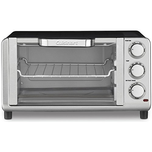 Cuisinart Compact Toaster Oven Broiler Stainless Steel (TOB-80FR)(Certified Refurbished) (Cuisinart Compact Toaster Oven compare prices)