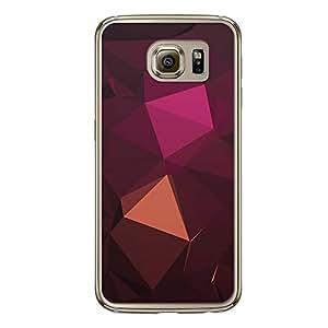 Loud Universe Samsung Galaxy S6 Geometrical Printing Files A Geo 24 Printed Transparent Edge Case - Multi Color