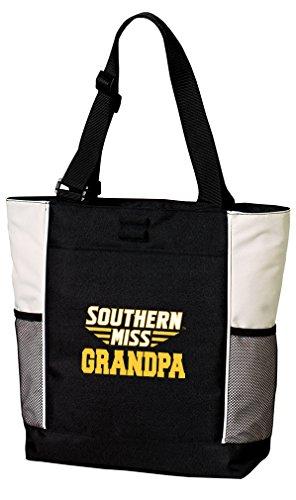 Southern Mississippi Pool - Broad Bay USM Grandpa Tote Bags Southern Miss Grandpa Totes Beach Pool Or Travel