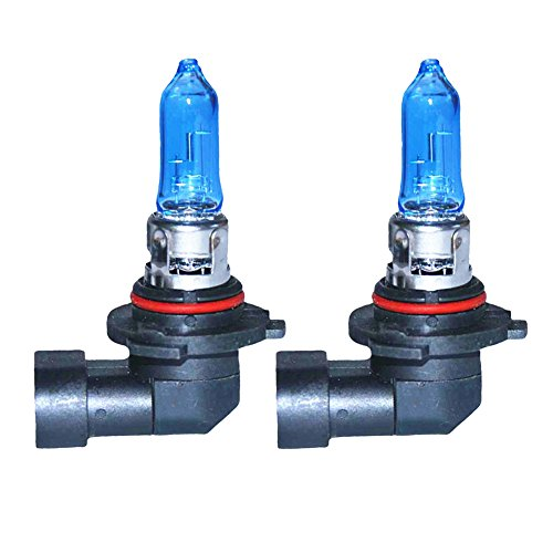 LEZEN 9005 HB3 12V 100W Super White Car Xenon Filled Halogen Bulb (Pack of 2)