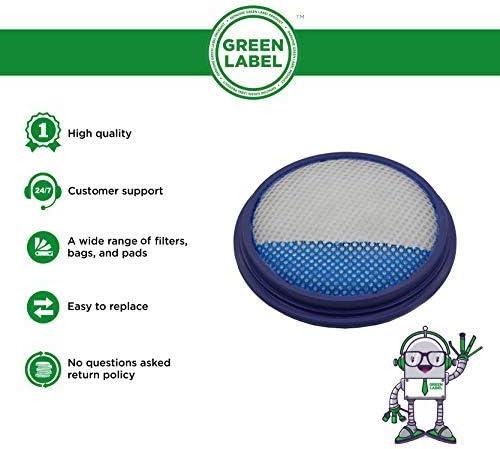 Green Label 1 Pack VAX Pre Motor Filter (1-7-138743)