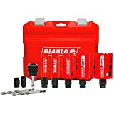 Diablo 10-Piece Carbide and Bi-Metal Hole Saw Set