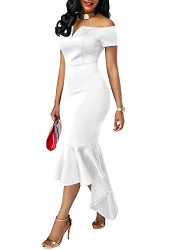 KISSMODA 007 Dress Dress 007 blanc blanc KISSMODA fHE0gwxdq