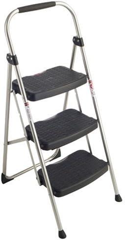 3-Step Stool,Slip-Resistant,25-9/16