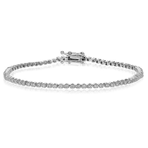2 CT Diamond Tennis Bracelet i
