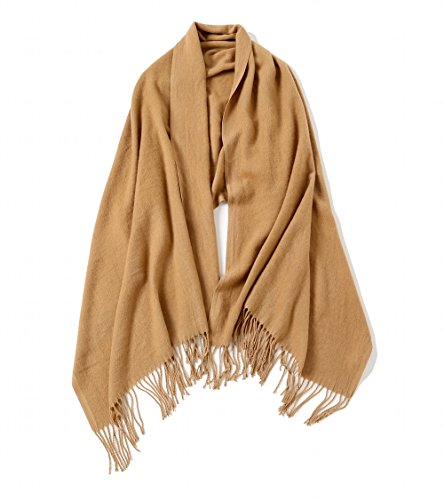 Winter Blanket Scarf Shawls And Wraps For Evening Dresses Cashmere Feel Large Scarfs Scarves For Men And Women by WS Natural