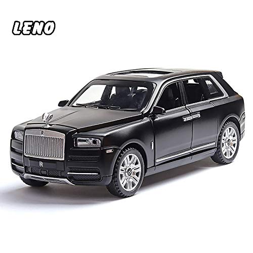 LENO Rolls Royce Cullinan SUV Diecast Metal Car Models | High Simulation | Scale 1:32 |Colour Black with Box
