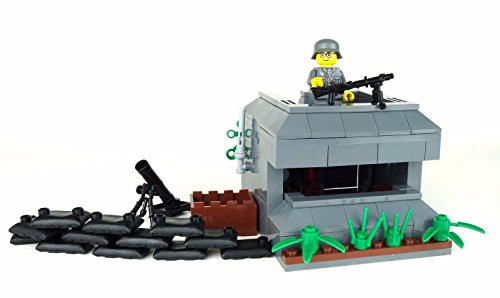 Battle Brick German WW2 Bunker Custom Set