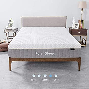 Amazon Com Milemont Memory Foam Gel Infused Bed Mattress