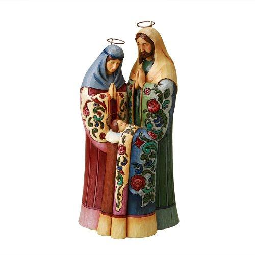 Enesco Jim Shore Heartwood Creek Holy Family Figurine, 10-1 2-Inch
