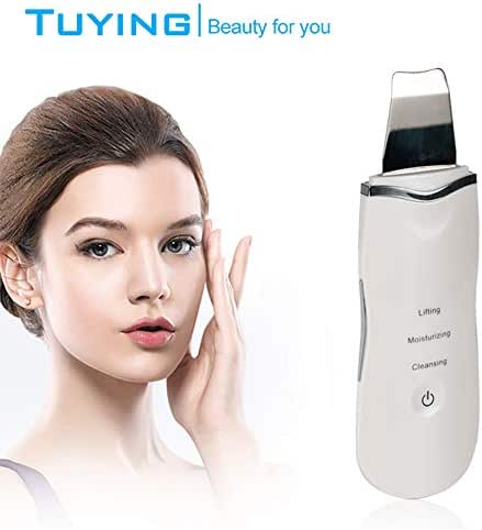 iN. Skin Scrubber Ultrasonic Shovel Peeling Machine Exfoliating Home Beauty Instrument Cleaning Facial Lift