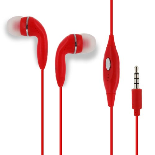 Iphone 3g Hands Free Earphones - S.p.A SportX 3.5mm Universal In-Ear Stereo Handsfree Earphone Earbuds Headphones Headset with Mic for Apple iPhone 3G/3GS/4/4S/5/5S/5C/6 (4.7