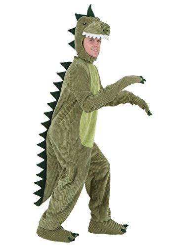 Plus Size T-Rex Costume 2X Lime]()