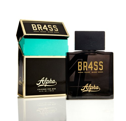 Musk Citrus Cologne - BR4SS Alpha Cologne Spray - Inspired By The 4 Exotic Scent Pillars Of BR4SS - Authentic Fragrance Perfume For Men - Woody Masculine Scent - 3.4 oz 100 ml