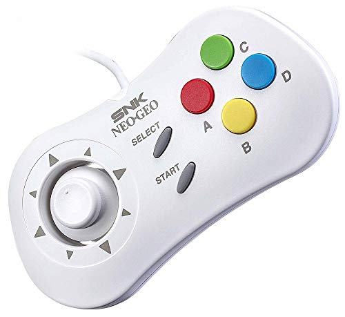 NEOGEO MINI PAD Controller Game Japan White ver. SNK