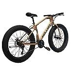 Helliot-Bikes-Bull-Brown-Fatbike-Unisex-Adult-Marrone-M-L