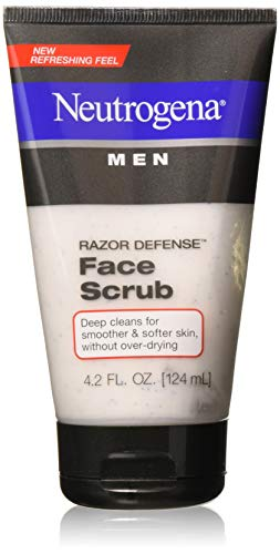 Neutrogena Men Razor Defense Face Scrub 4.20 oz