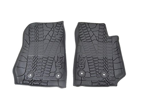 Mopar 82213861 Black All-Weather Floor Mat
