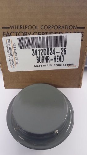 Maytag Magic Chef Burner Assembly, Gray, 3412D024-26 by Whirlpool by Whirlpool