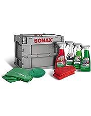 SONAX TruckerBox Pakket: interieurverzorgingbox (7-delig) hoogwaardige producten + accessoires voor reiniging en verzorging in het interieur. Ideaal voor onderweg | art.nr. 07685410