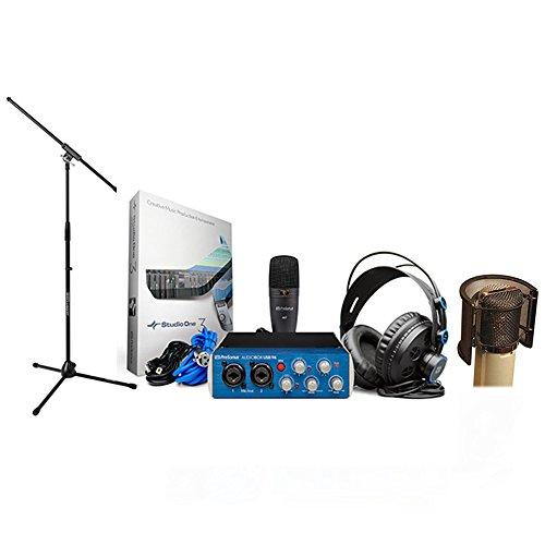 PreSonus AudioBox Studio Audio Recording Interface Bundle - Upgraded ()