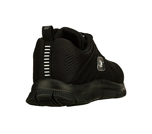 Skechers Flex Appeal - Sweet Spot, Walking, Black, W US
