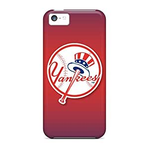 Snap-on New York Yankees Case Cover Skin Compatible With Iphone 5c