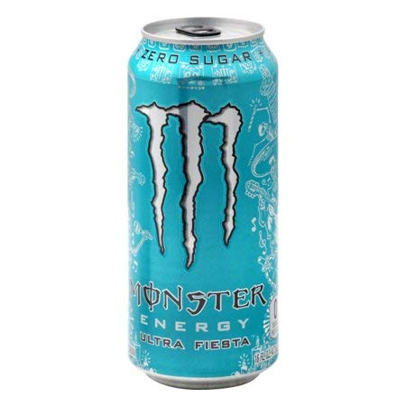 Amazon Com Monster Energy Drink Ultra Fiesta 16 Oz Can Pack Of 12 Grocery Gourmet Food
