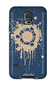 High Impact Dirt/shock Proof Case Cover For Galaxy S5 (ubuntu)