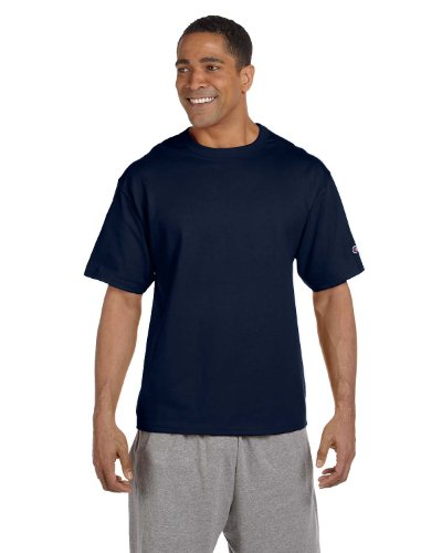 Heritage Jersey T-shirt - Champion Heritage 7 oz. Jersey T-Shirt, Large, NAVY