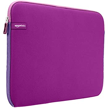 AmazonBasics 15.6-Inch Laptop Sleeve - Purple