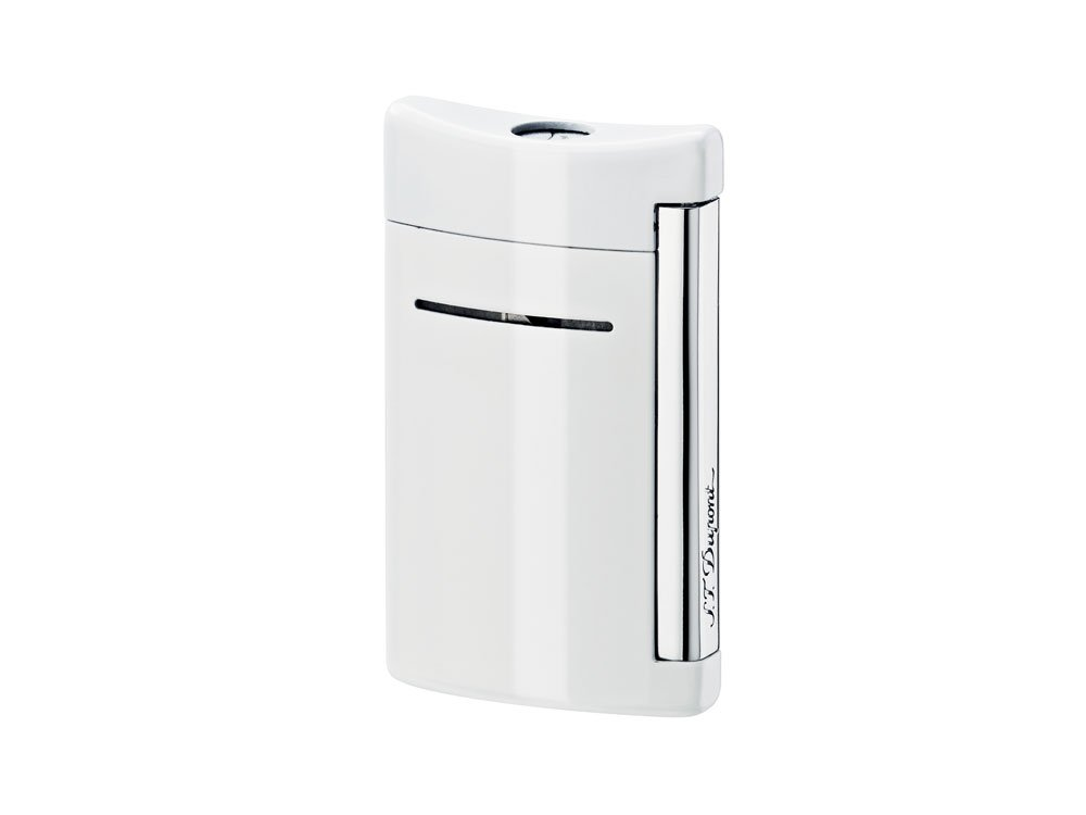 Dupont/Minijet/Lighter/Chrome White Lacquered 10030