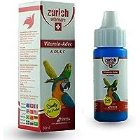 Zurich Kuş Vitamini A, D3, E, C Vitaminleri 30 ml