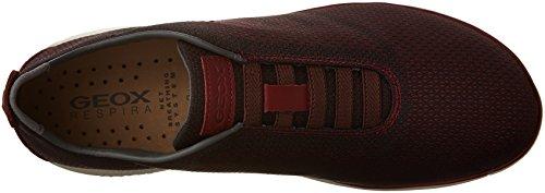 Uomo scarpa sportiva, color Borgogna , marca GEOX, modelo Uomo Scarpa Sportiva GEOX U NEBULA B Borgogna