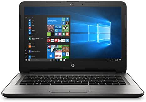 HP 14-an013nr 14-Inch Notebook (AMD E2-7110 QC, 4GB RAM, 32 GB eMMC Hard Drive, Windows 10 Home 64)