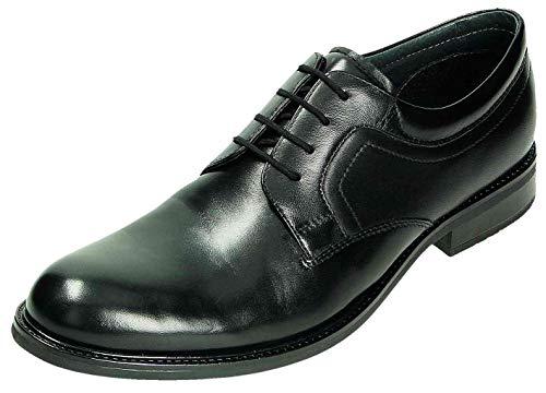 Lacets De Klondike Homme Pour Noir À Chaussures Ville 5ZIqZ